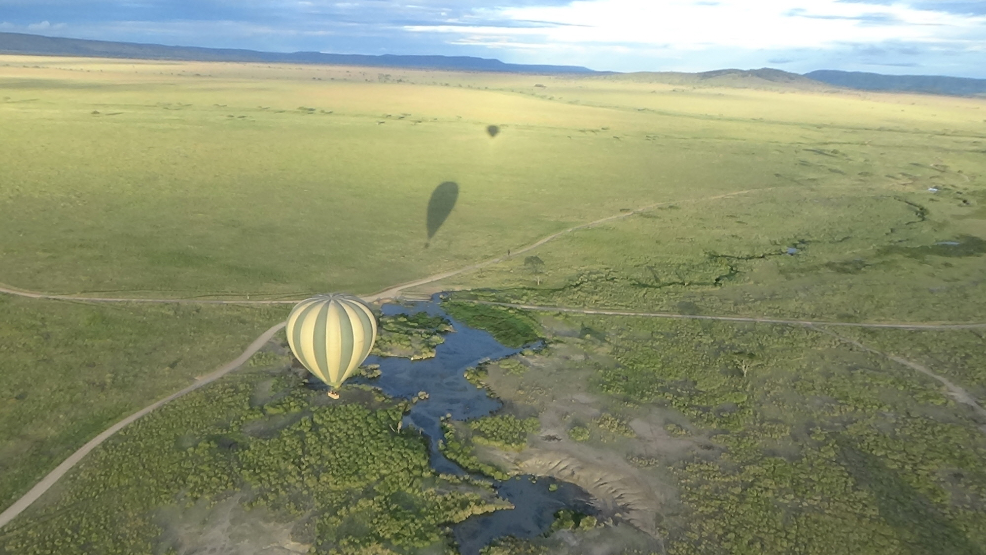 Balloning over the Serengeti