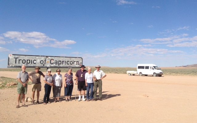 Tropic of Capricorn - Namibia