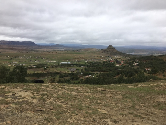 Overview of Isandlwana