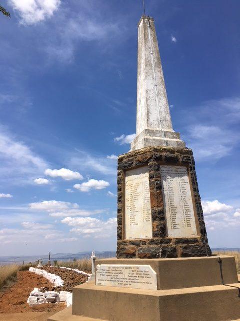 Battle of Spionkop memorial