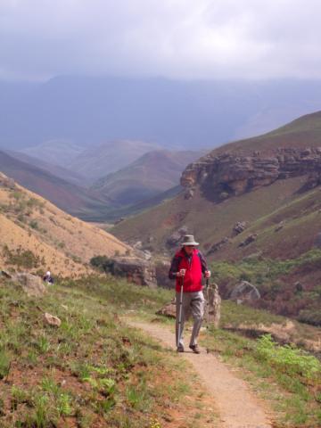 Walking in the Berg
