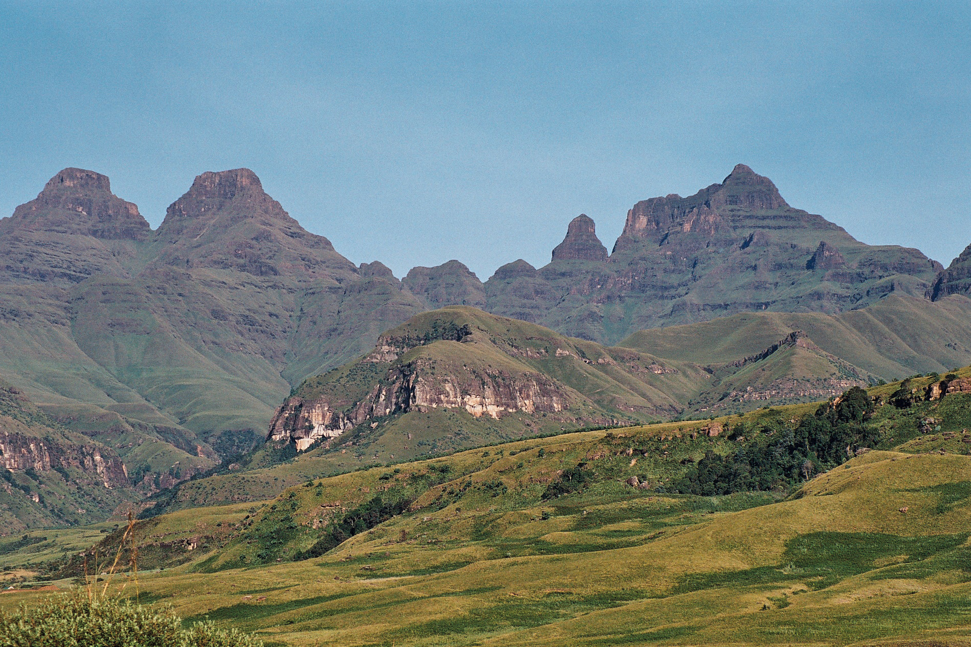Cathedral Peak - Drakensberg