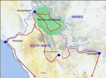 Richtersveld map