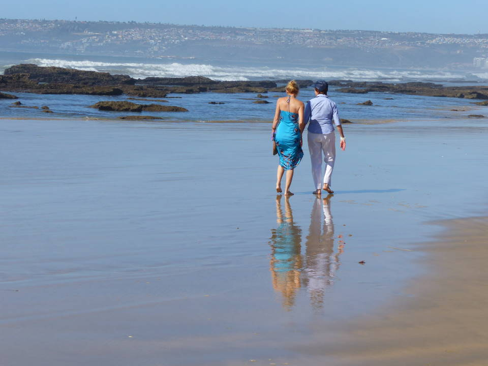 Stroll on the beach - Mossel Bay
