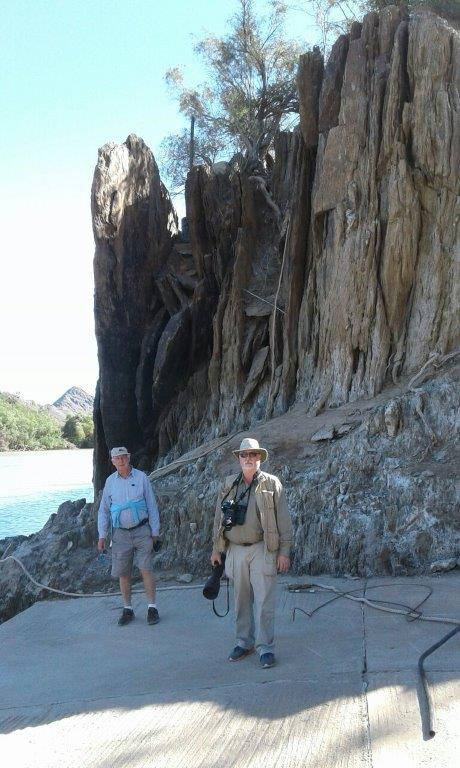 Vertical Rock Strata