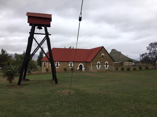 Mission church at Isandlwana