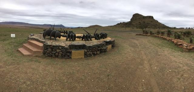 Zulu memorial at Isandlwana